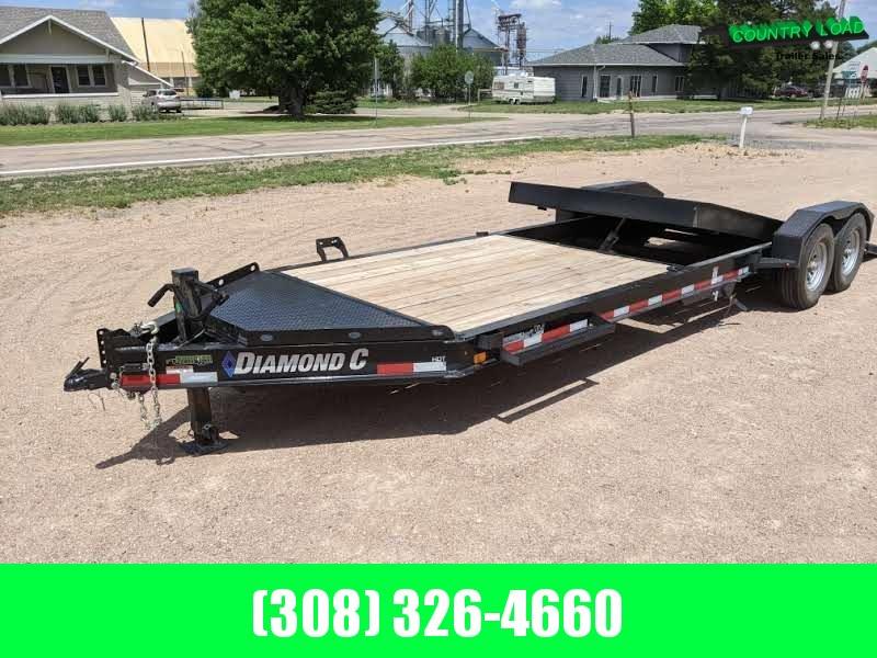 USED 24x82  Diamond C HDT Equipment Trailer