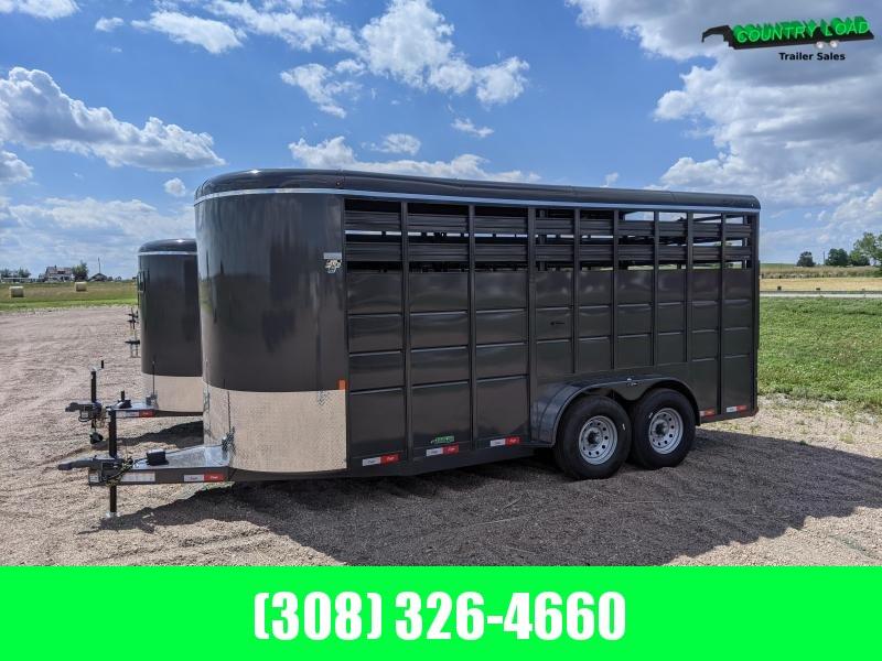 2021 Delta Manufacturing 500HD Livestock Trailer