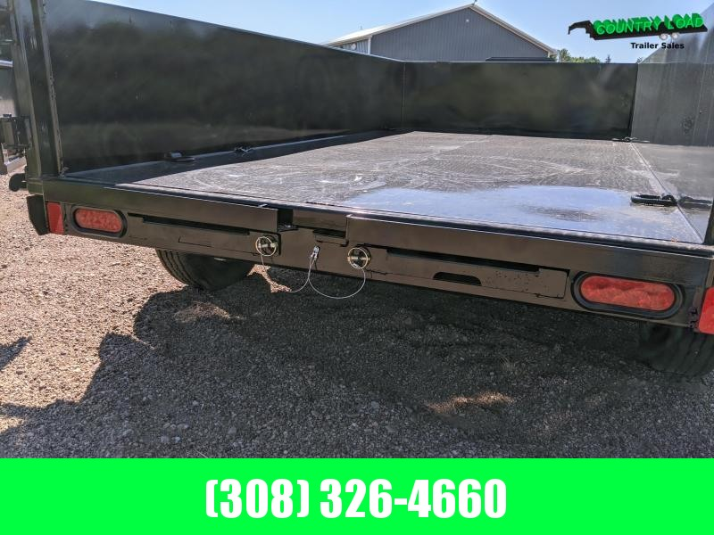 Diamond C EDG 10x60 Dump Trailer