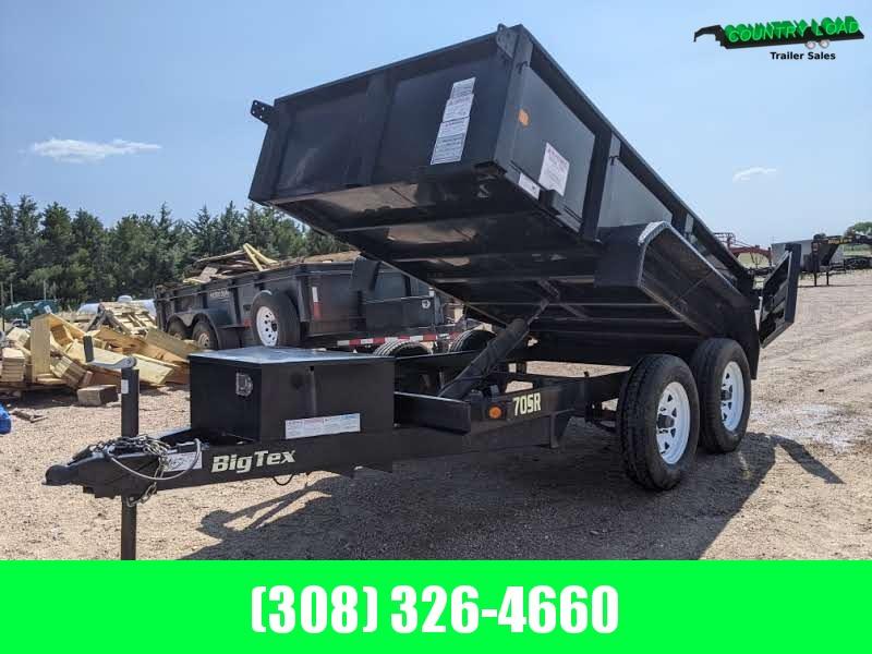 USED Big Tex 10x60 70SR Dump Trailer