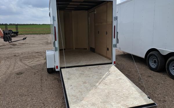 Wells Cargo FT 6 x 10 Enclosed Cargo Trailer