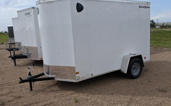 Wells Cargo FT 6 x 10 Enclosed Cargo Trailer
