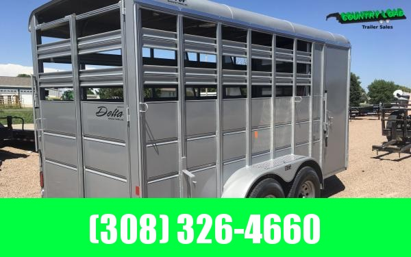 2020 Delta 500 Combo 16' Horse Trailer