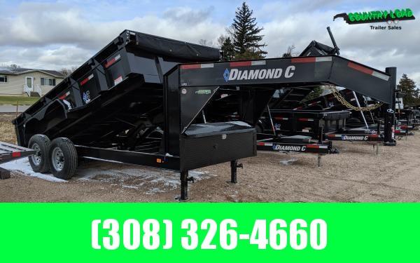 2020 Diamond C LPD Gooseneck Dump Trailer