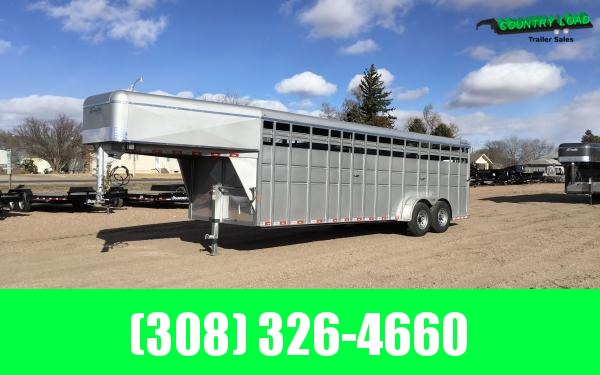 2019 Delta 600HD 24' Stock Trailer BP