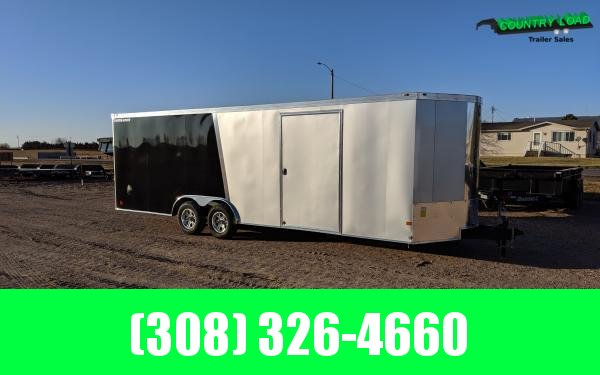 Wells Cargo FT 8.5 x 24 Enclosed Cargo Trailer