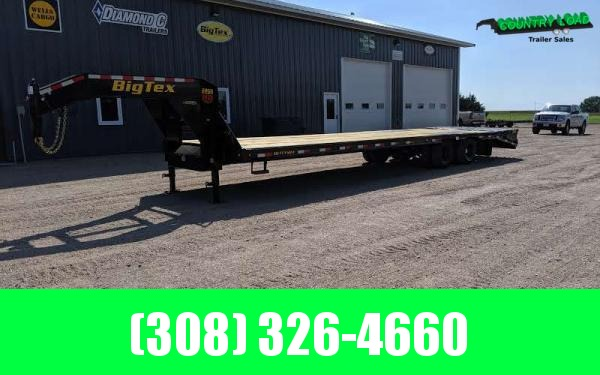 2020 Big Tex 22GN 8.5 x 30+5 Flatbed Trailer w/ Mega Ramps