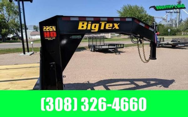 2020 Big Tex 22GN 8.5 x 30+5 Flatbed Trailer w/ Mega Ramps