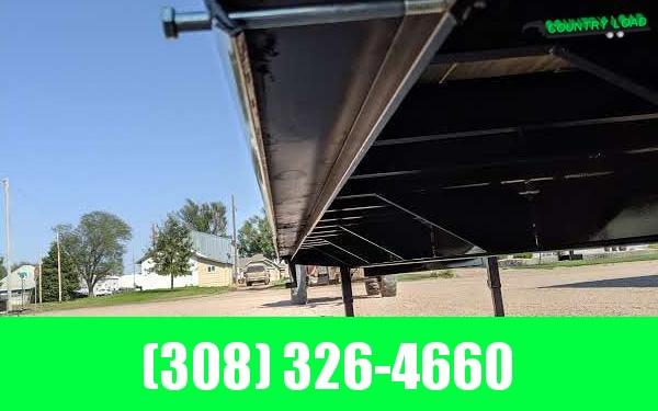 Big Tex 22GN 8.5 x 30+5 Flatbed Trailer w/ Mega Ramps