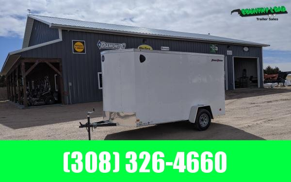 Wells Cargo FT 6 x 12 Enclosed Cargo Trailer