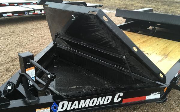 2020 Diamond C HDT 22' Tilt Equipment Trailer