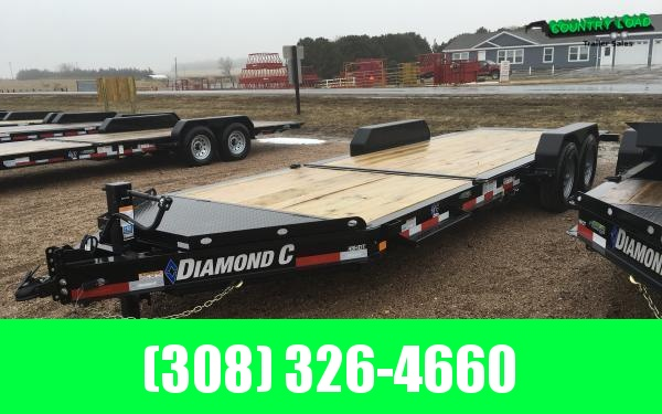 Diamond C HDT 22' Tilt Equipment Trailer