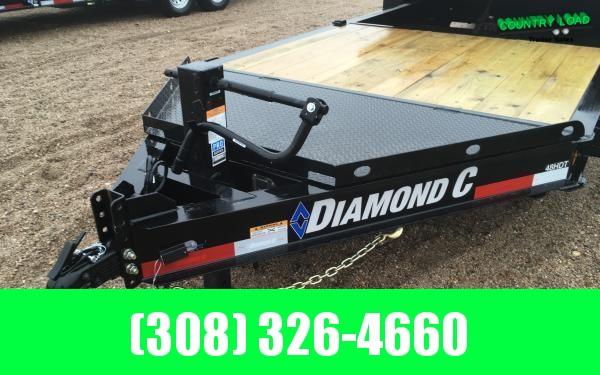 Diamond C HDT 22' Tilt Equipment Trailer