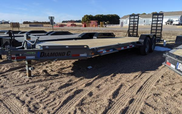 "2020 Diamond C LPX 82"" x 22' Equipment Trailer"