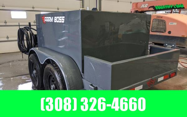 2020 Farm Boss 5 x 10 590 gal. 10K Fuel Trailer (Gas Pump)