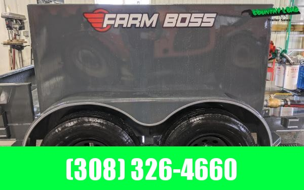 2020 Farm Boss 5 x 10 590 gal. 10K Fuel Trailer (Gas Pump)