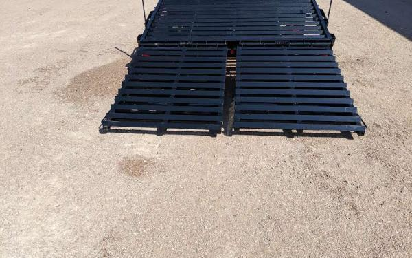 2020 Big Tex 22GN 8.5 x 20+5 Flatbed Trailer w/ Mega Ramps