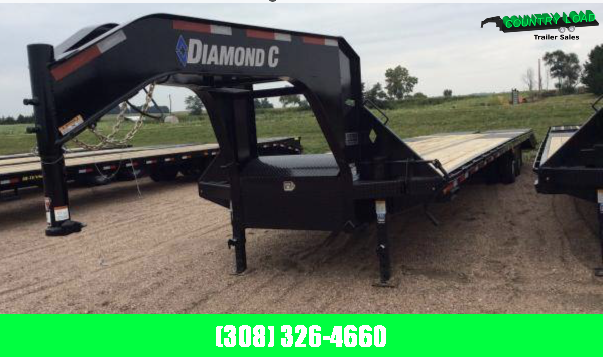 Diamond C Trailers FMAX212 35' Flatbed Trailer
