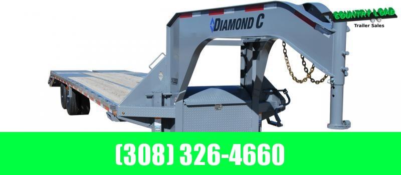 Diamond C Trailers FMAX212 35' Flatbed Trailer