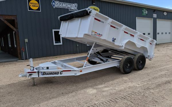 2020 Diamond C LPD 14' Custom Dump Trailer