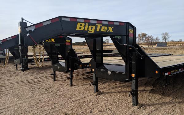 2020 Big Tex 25GN 8.5 x 35+5 Flatbed Trailer w/ Mega Ramps