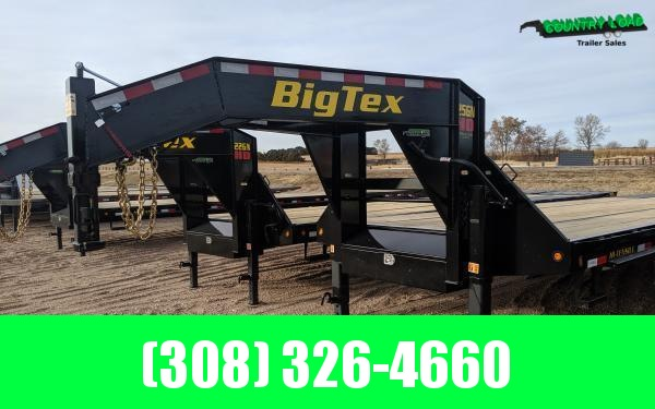 2021 Big Tex 25GN 8.5 x 35+5 Flatbed Trailer w/ Mega Ramps