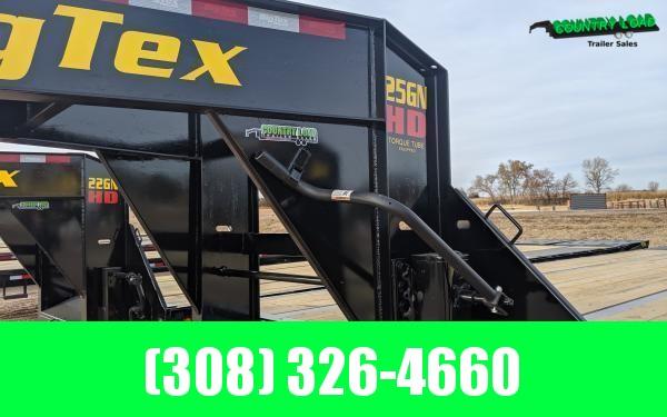 2021 Big Tex 25GN 8.5 x 35+5 Flatbed Trailer w/ Mega Ramps