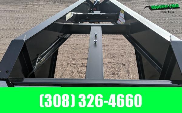 2022 Big Tex 25GN 8.5 x 35+5 Flatbed Trailer w/ Mega Ramps