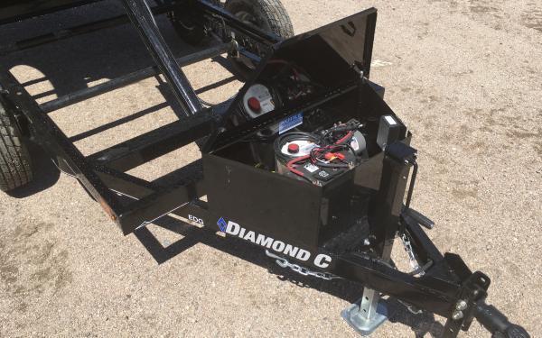 """2020 Diamond C EDG 60"""" x 10' Dump Trailer"""