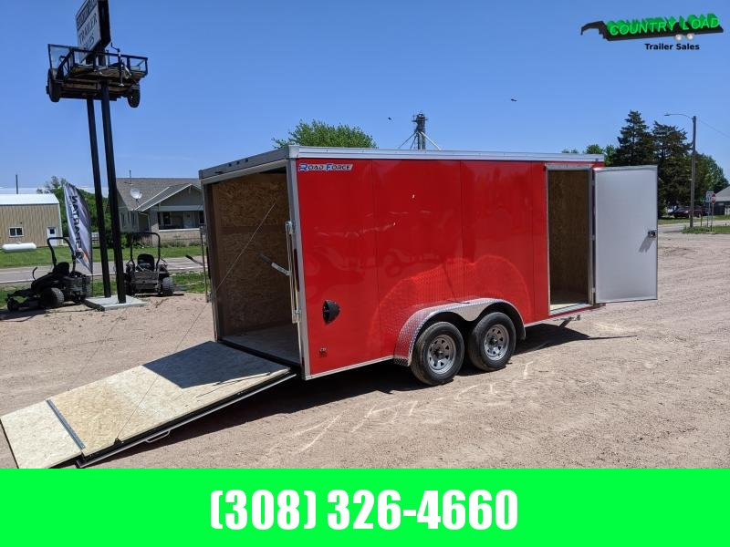 2020 Wells Cargo RF 7X16 Enclosed Cargo Trailer