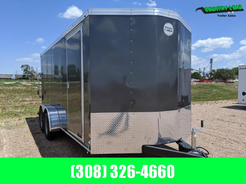 Wells Cargo 7x14Road Force Enclosed Cargo Trailer
