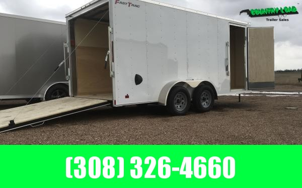 Wells Cargo FT 7 x 16 Enclosed Cargo Trailer