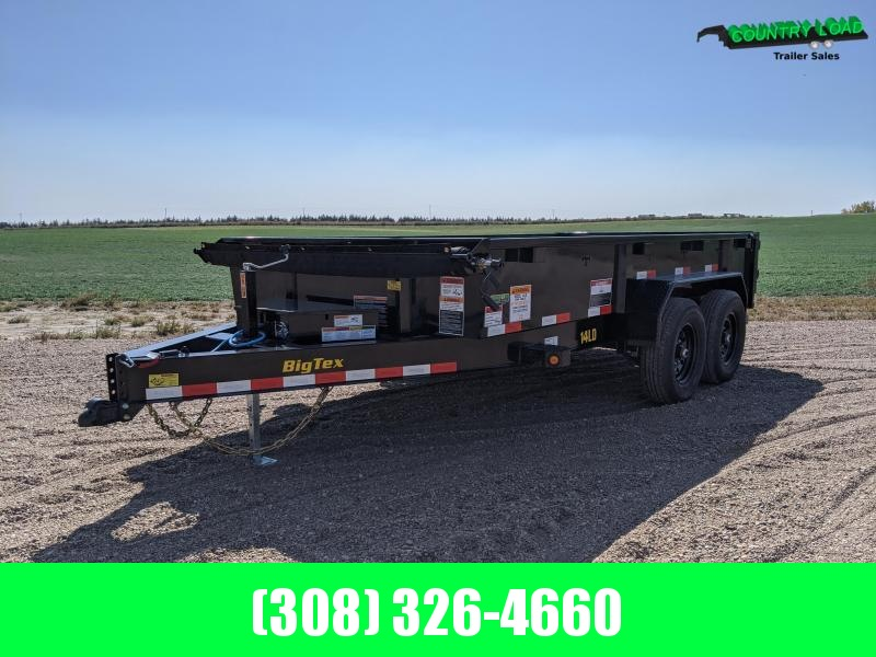 Big Tex 14x83 LD Dump Trailer