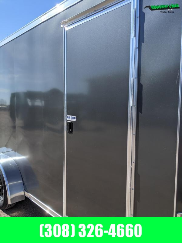 USED 2021 Cross Trailers 7X16 Enclosed Cargo Trailer