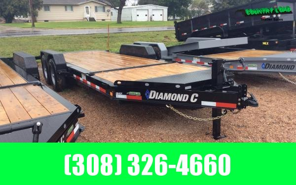 Diamond C HDT 20' Tilt Equipment Trailer