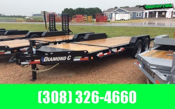 Diamond C HDT 20' Tilt Equipment Trailer