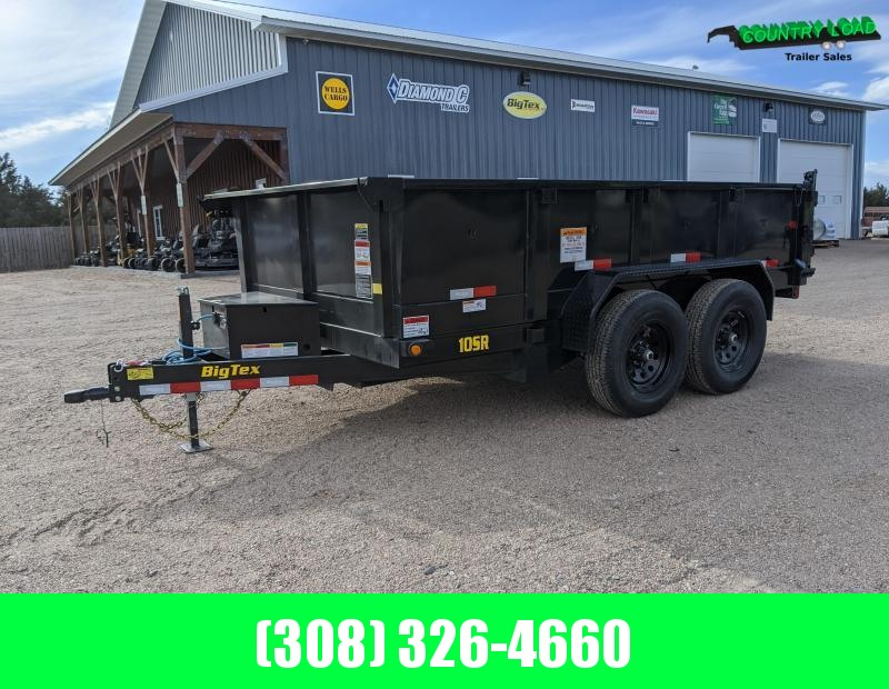 2021 Big Tex Trailers 10SR 12x83 Dump Trailer