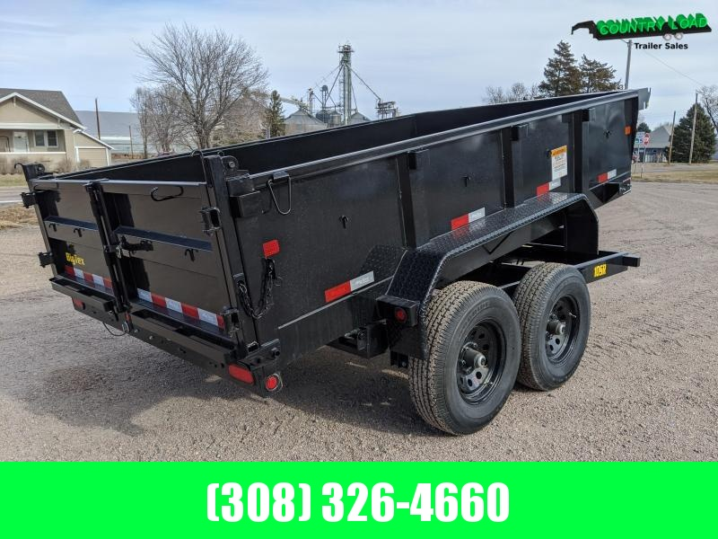 2021 Big Tex Trailers 10SR 12x83 Dump Trailer