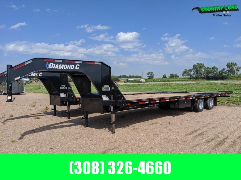 2020 Diamond C Trailers FMAX210HDT Flatbed Trailer