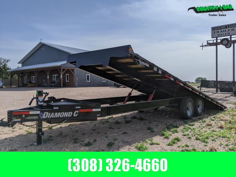 2020 Diamond C Trailers DET 24x102 Equipment Trailer