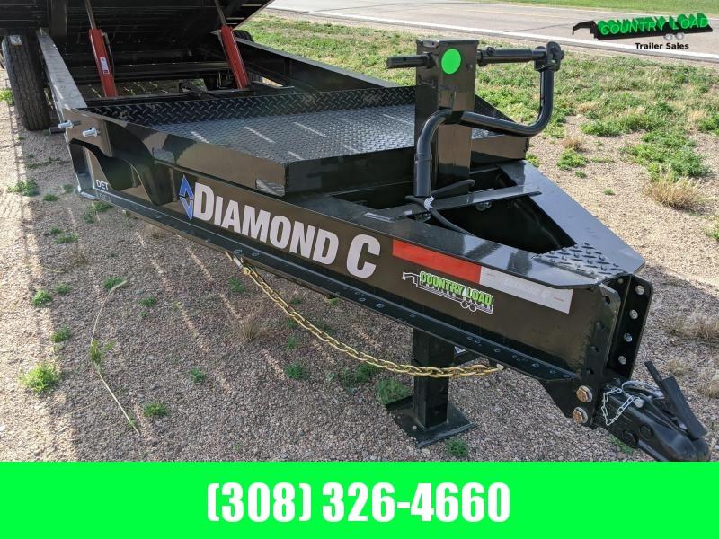 2020 Diamond C Trailers DET 24x102 Equipment Trailer