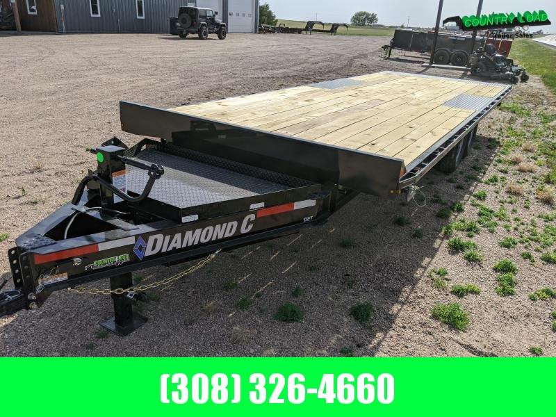 Diamond C DET 24x102 Equipment Trailer
