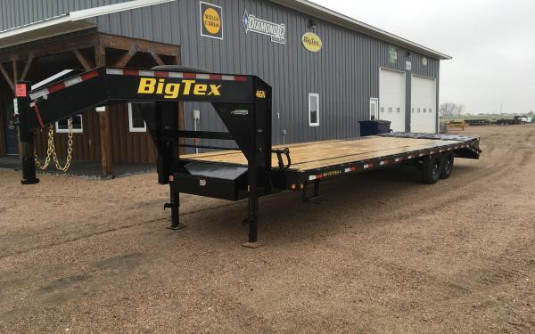 2021 Big Tex 14GN 8.5 x 25+5 Flatbed Trailer