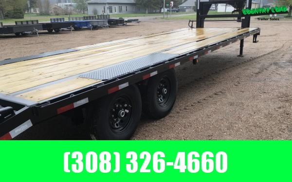 2021 Big Tex 14GN 8.5 x 25+5 Flatbed Trailer