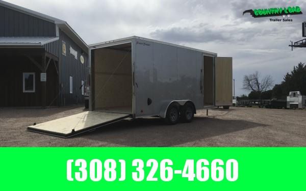 Wells Cargo FT 7 x 16 Enclosed Cargo Trailer - 7' Inside