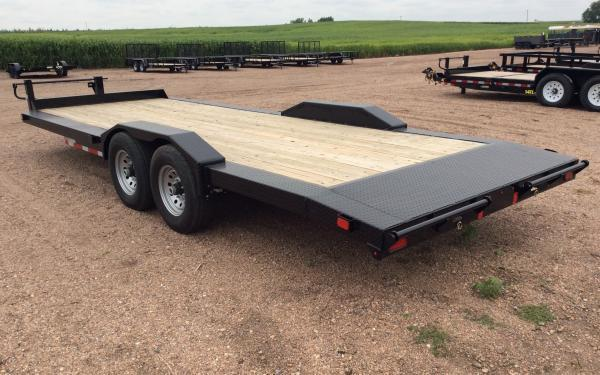 2020 Diamond C EQT 22' Equipment Trailer w/ Frame Extensions