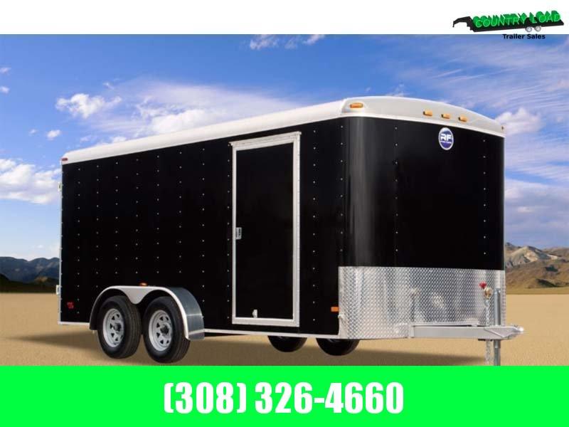 2021 Wells Cargo 7x16 Enclosed Trailer