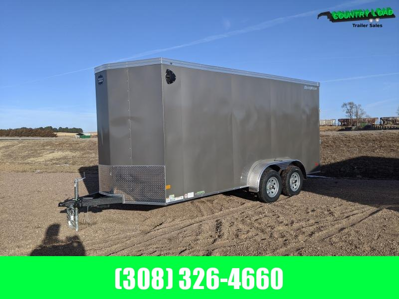 2021 Wells Cargo 7x16 Enclosed Trailer