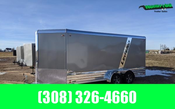 Legend Deluxe 7 x 19 Aluminum V-Nose Enclosed Cargo Trailer