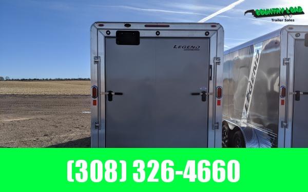 Legend Deluxe 7 x 19 Aluminum V-Nose Enclosed Cargo Trailer